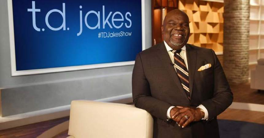 T.D. Jakes to tackle headlines in new talk show on OWN