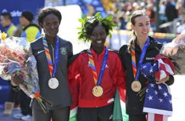 East African runners excel on track, scooping NYC Maraton's first prize
