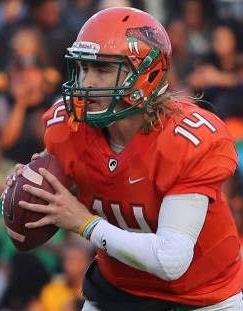 Quarterback Ryan Stanley threw two touchdowns in the fourth quarter to lead FAMU to a come-from-behind victory over Morgan State. Photo courtesy FAMU athletics