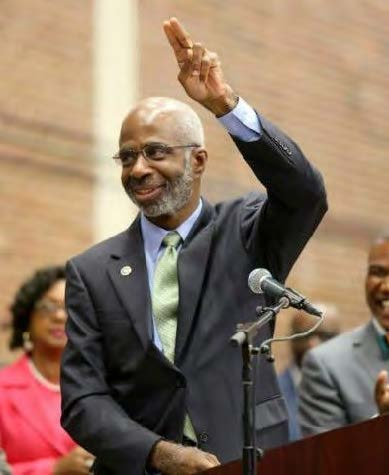 Larry Robinson, who has a long list of achievements as a scientist, is getting plenty of endorsements to be the next president of FAMU. Photo courtesy FAMU