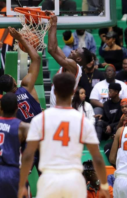 Desmond Williams has been giving the Rattlers the inside presence they need with scoring and block shots. Photo courtesy FAMU athletics