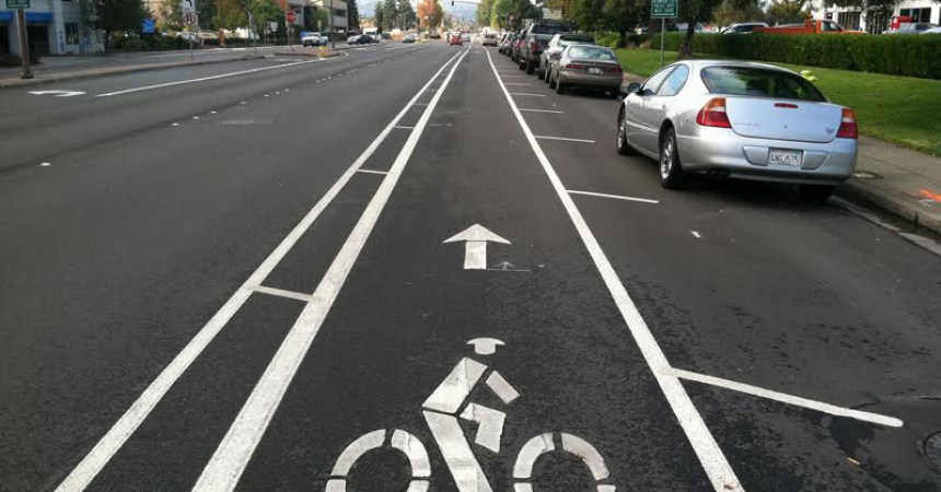 Riding bikes downtown gets safer and easier