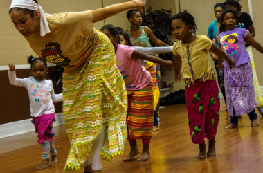 Dance troupe strikes right chord with African rhythm