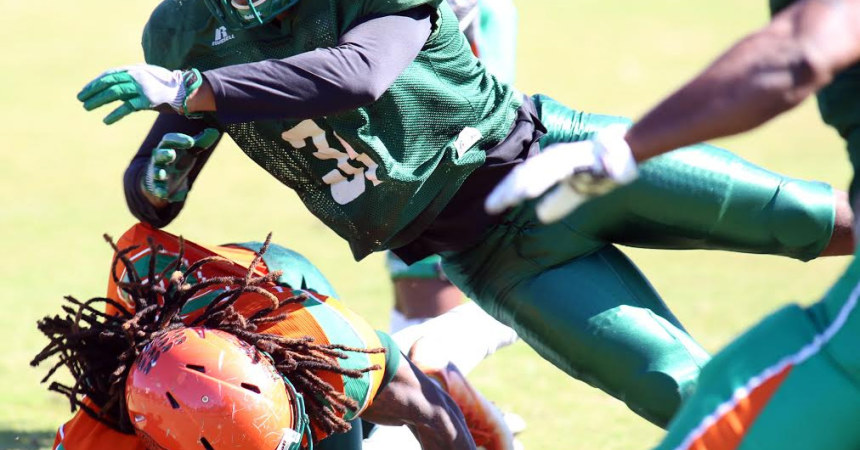 Wood likes what he sees in Rattlers' spring scrimmage