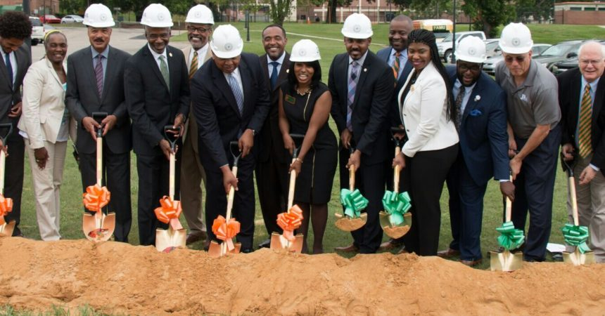 Ground breaking ceremony for FAMU's  Center for Access and Student Success,