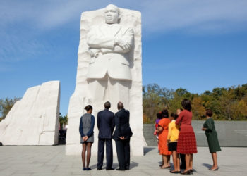 Under Director Comey, FBI special agents were required to visit Dr. King's memorial