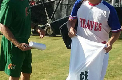 Shouppe looks for talent at first prospects baseball camp
