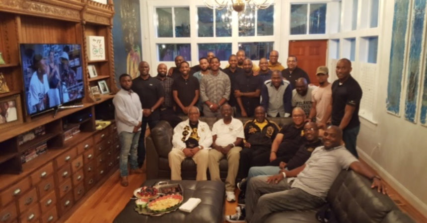 Alpha Phi Alpha's Beta Nu members gather at the 94th Annual General Convention