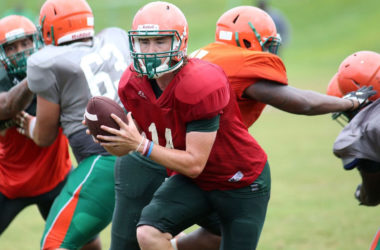 Rattlers' offensive line showing improvement