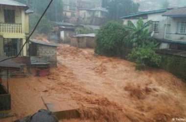 Hundreds feared dead in Sierra Leone mudslide linked to climate change