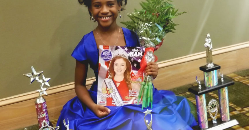 Local girl finalist in national American Miss Pageant