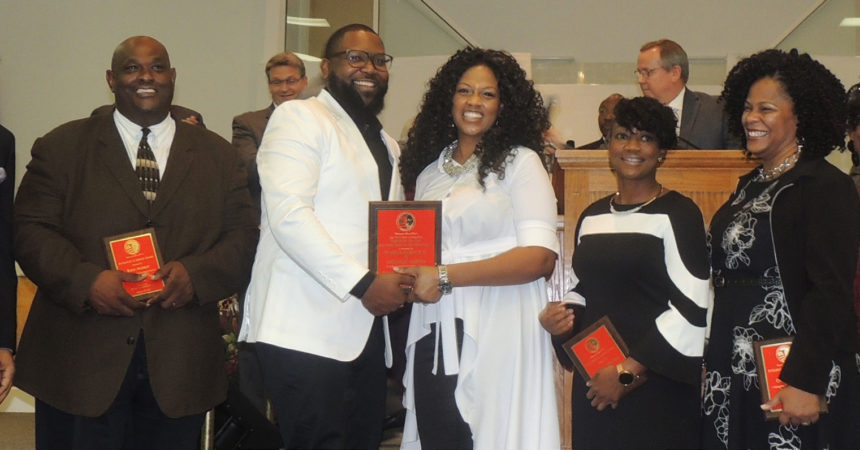 MLK Foundation honors pastor, community leaders with rousing celebration
