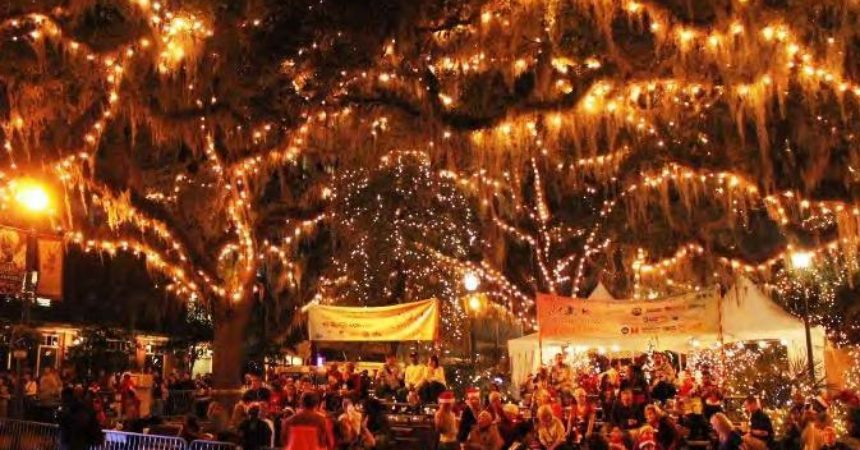 Winter Festival lights up downtown Tallahassee