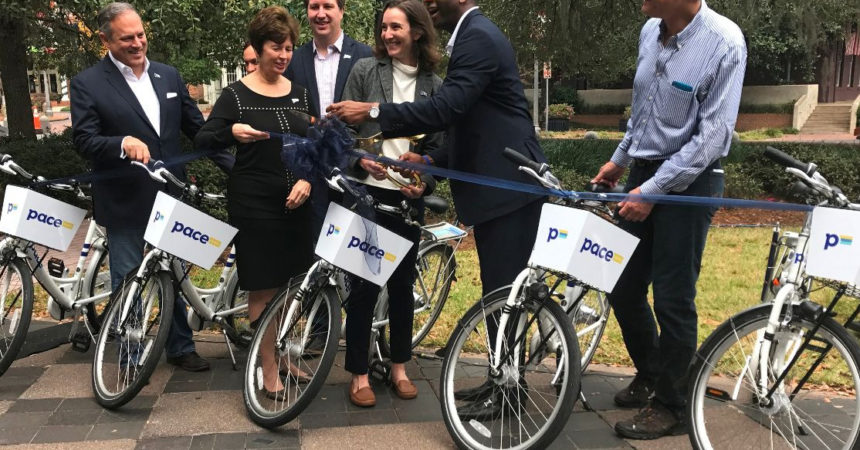 Pace bike share now a transportation option in Tallahassee