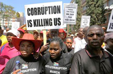 South African war on corruption moves into high gear
