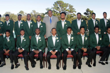 Tallahassee Links honors eighteen seniors at Eighth Annual Links Beautillion Green Coat Ceremony