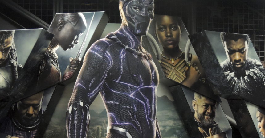 Overflow crowd flocks to see Black Panther fund-raiser