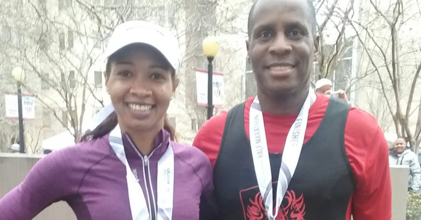 Father, daughter find way to bond  through running