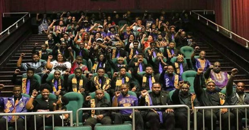 The Omega Psi Phi Fraternity- A night to remember