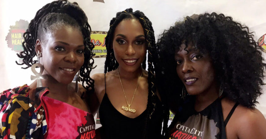 Expo puts sisters' passion for natural hair on display