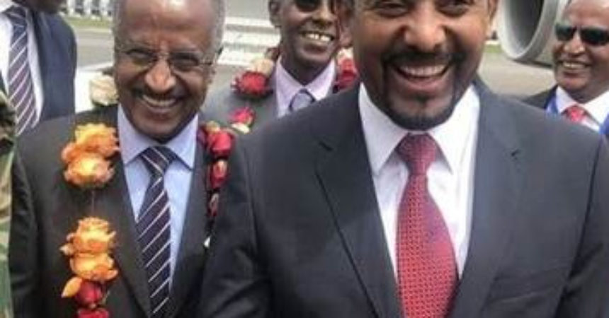 Ethiopian leader sparks euphoria during a whirlwind U. S. trip