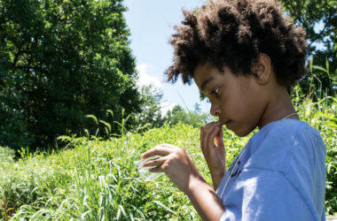 Eleven ways for children of color to leave the screens for green
