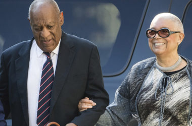Camille Cosby appears at judicial conduct review board