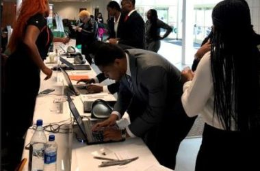 Students flock to job expo seeking opportunities