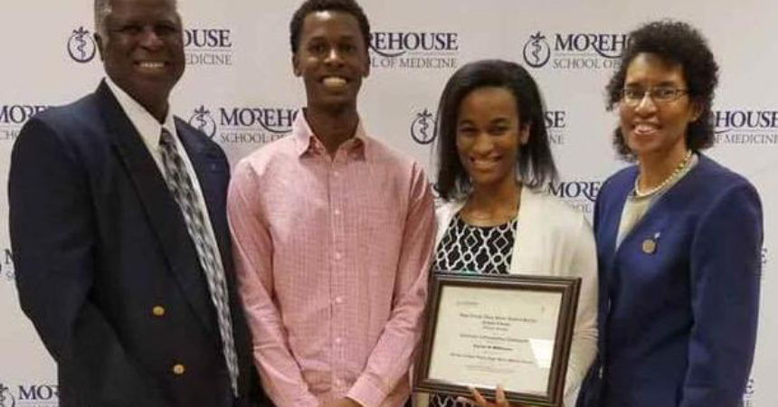 Rickards grad Williams making big impression at Morehouse School of Medicine