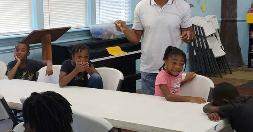 Summer camp provides many firsts for children of Orange Avenue Apartments