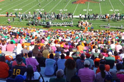 FAMU fans stay faithful; even for a Sunday game