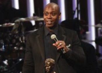 Master of comedy Dave Chappelle receives Mark Twain Prize for American Humor