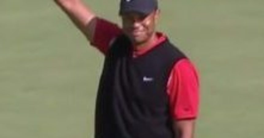 Tiger Woods ties PGA record for most wins