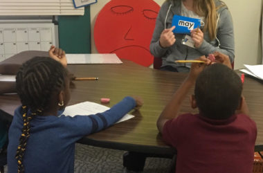 YMCA program helps improve reading at Ruediger