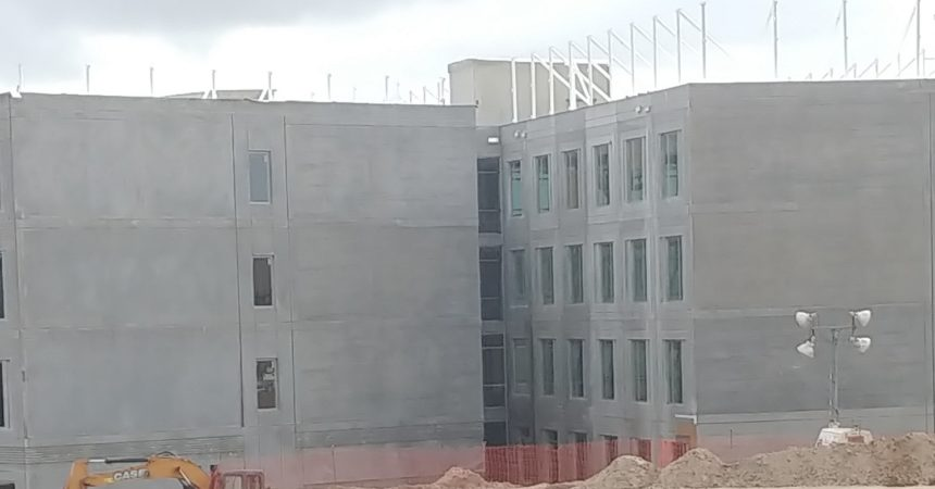 Ceremony marks progress of 700-bed student residence hall at FAMU