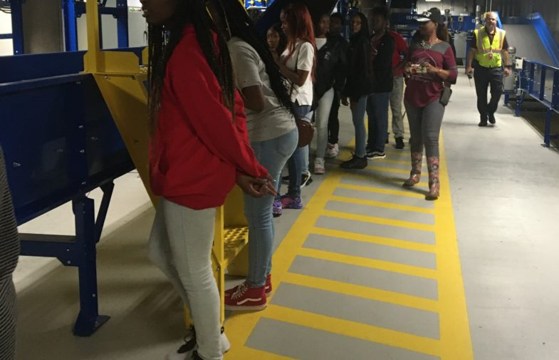 Field trip gives  construction students a view of career options