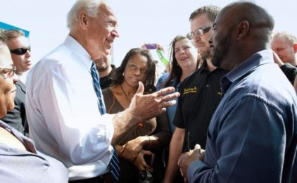 Joe Biden takes firm stand against police murder of George Floyd