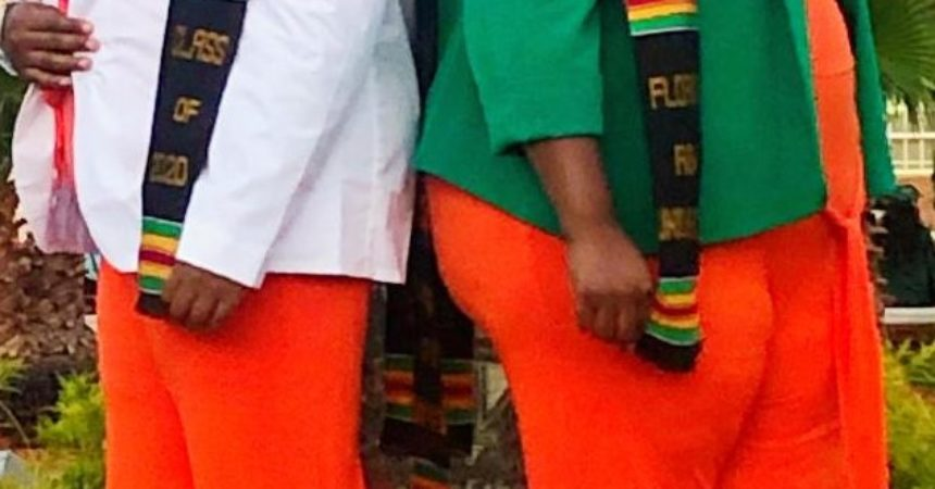 Graduating Lowder twins extending FAMU family tradition