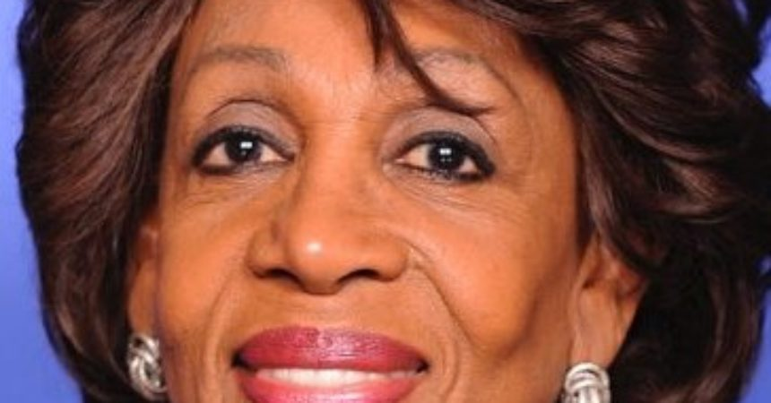 Rep. Waters applauds decision by six NBA teams to boycott playoff games following the shooting of Jacob Blake