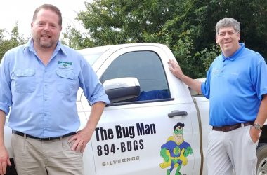 Womble finds his niche as owner of Bug Man pest control
