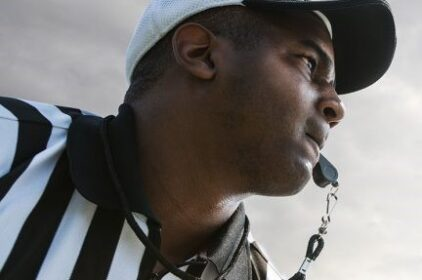 For the first time in  history, an all-Black crew officiate an NFL game