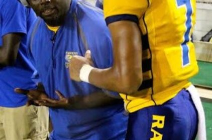 Lewis uses his early experiences to turn around Rickards football program