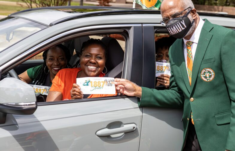FAMU Day of  Giving 1887 Strikes surpasses $450,000 in donations