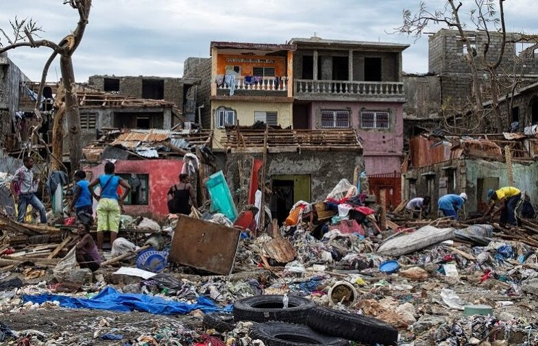 A request for humanitarian relief to Haiti