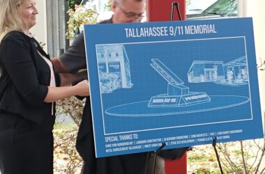 Getting steel for 9/11  memorial in Tallahassee was no easy chore for Terhune